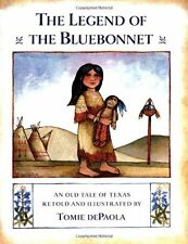 The Legend of the Bluebonnet : An Old Tale of Texas by Tomie dePaola (1983, Hardcover)