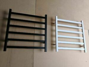 Matte Black  Heated Towel Rail rack Square 5 bar 1500 mm extra wide super luxury