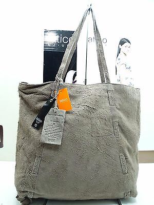 NWT Latico Satchel Bag Tote Mushroom Naked Leather W/Organizer Top Zip Entry