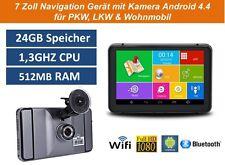 Elebest 7 Zoll Navigationsgerät,Wohnmobil,TMC,Bluetooth,Radar,DVR,Kamera