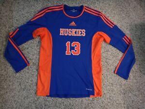 big sale 0cad9 01455 Details about Adidas Houston Baptist University HBU Volleyball Jersey~Long  Sleeve~Sz M~EUC