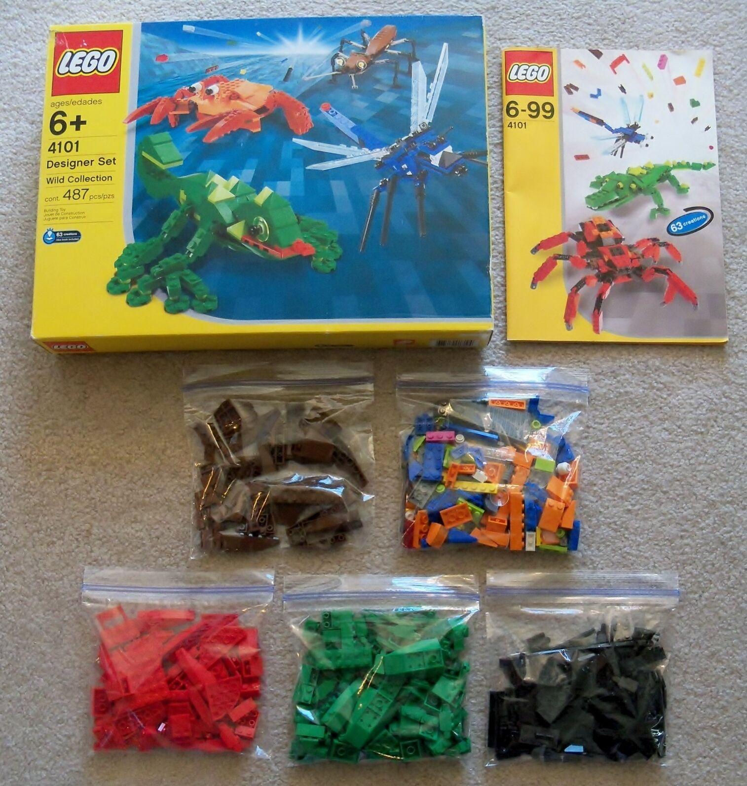 Lego Creator - Rare 4101 Créateur Set Wild Collection - Complet