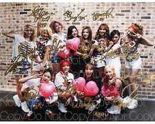 SNSD Photograph Girls Generation & Red Velvet 8X10 photo poster autograph RP