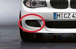 BMW SERIE 5 NUOVO ORIGINALE m5 e39 1995-2003 M PARAURTI ANTERIORE CENTRALE GRILL 2496285