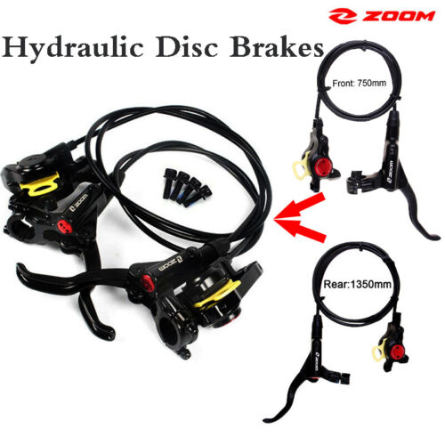 Bicycle Hydraulic Disc Brakes Calipers Bike Front/&Rear with 160//180mm Rotors US