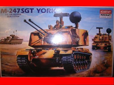 1/35 Kit Academy 1346 Carro Armato Tank M 247 Sgt York Us Air Defense Gun System Fissare I Prezzi In Base Alla Qualità Dei Prodotti