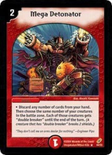 Duel Master Mega Detonator 44//55 Shadowclash of Blinding Night DM-04