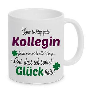 Gute Kollegin Tasse Beste Geschenk Welt Spruch Kaffeebecher Buro
