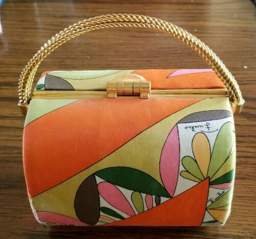 Emilio pucci vintage 1960's Treasure Chest Purse