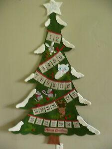Pottery Barn Woodland Tree Advent Calendar Christmas