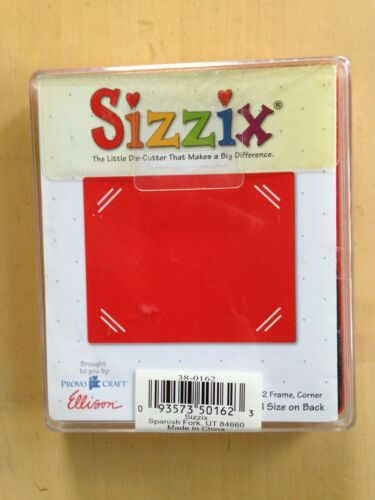 rouge Choisissez Provo Craft Ellison Sizzix Originals Die-Cutter meurt