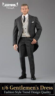 "VORTOYS V1014A 1//6 Gentleman Suit Royal Wedding Clothing F 12/"" Male Figure Body"