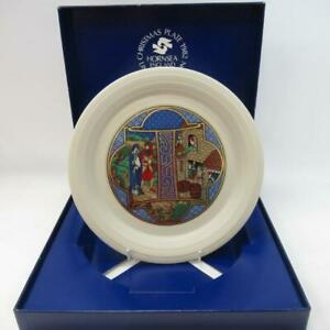 Vintage-Hornsea-Limited-Edition-Christmas-Themed-Collectors-Plate-with-Box-LotG