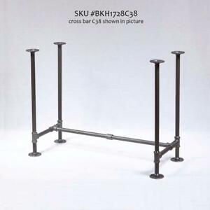 Industrial pipe KIT, pipe table legs, table frame, table base, bench legs, shelf brackets, shelving Canada Preview