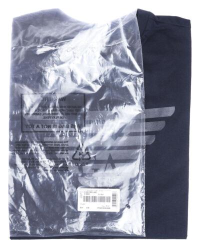 Coton Shirt T Sweat 3z1t881j00z Homme Armani Emporio Bleu 922 wTqqOnpIxd