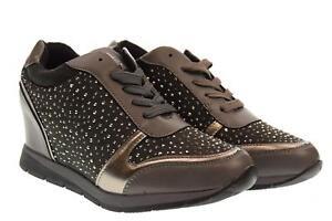 Compensé Xti Femme Grey A18f 48513 Chaussures Avec Sneakers Talon nYOnUxB