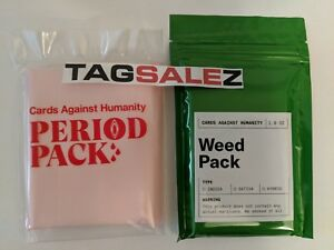 Cards-Against-Humanity-CAH-WEED-amp-PERIOD-Expansion-Packs-Part-of-Profits-Donated
