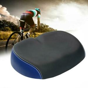 Extra-Comfort-Wide-Big-Bum-Bike-Bicycle-Gel-Sporty-Soft-Seat-Saddle-Pad-D2I3