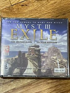 MYST 3 EXILE UBISOFT PC GAME Brand New Sequel To Myst & Riven