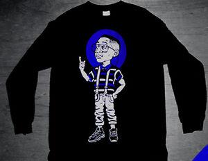 New Long Sleeve xi Steve Finessin shirt match space jam Jordan 11 cajmear M L XL