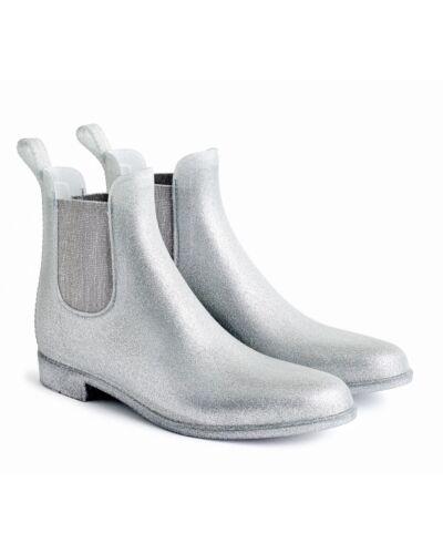 US Women/'s Size 7 Item # J9750 9 8 J Crew Chelsea Rain Boots in Glitter