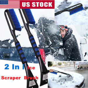 New Fashion Premium Ice Scrape Heavy Duty Frost And Snow Removal For Car Windshield And Window Tool Cleaning Tools Snow Shovel#sw Garden Tools Garden Hand Tools