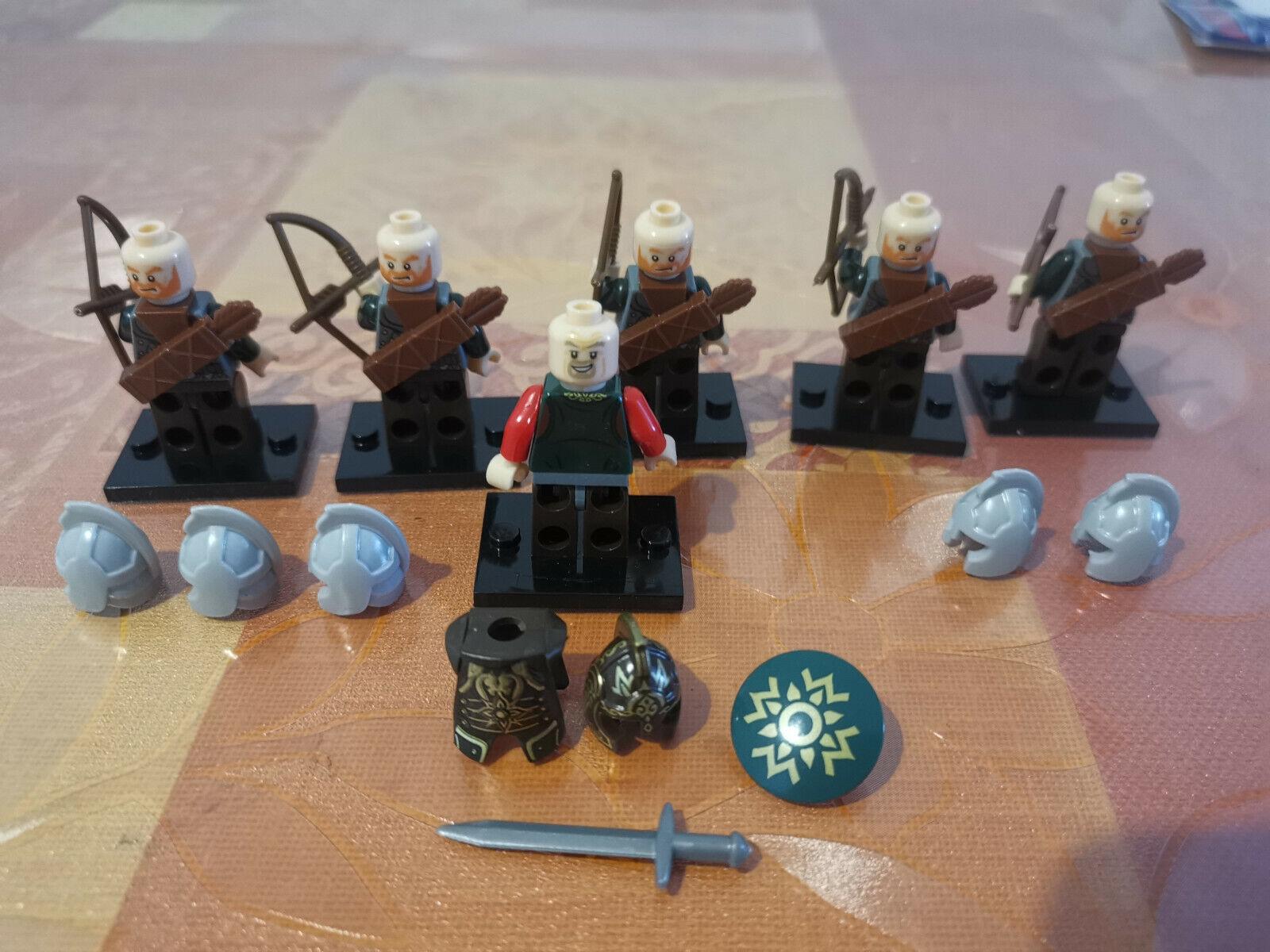 Lego Der Herr Der Ringe Der Hobbit Auswahl Nazgul Etc Figuren Theoden Spielzeug Bau Konstruktions Minifiguren