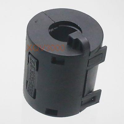 5pcs EMI RFI Filter TDK 9mm Clip Snap Around Ferrite for Audio Video DATA black