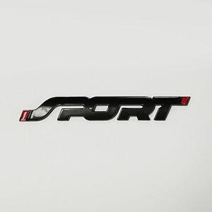 Image Is Loading Ford Sport Emblem Gloss Black Fits Explorer Edge