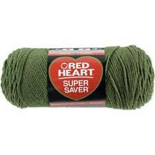 Red Heart E300.0400 Super Saver Yarn Grey Hther