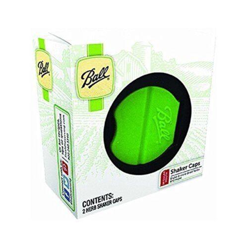 Pack of 2 lids Ball Herb Shaker Plastic Lids