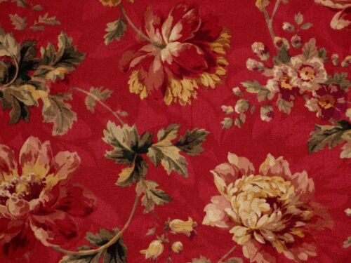 Mill Creek Raymond Waites LUCRETIA Floral SUNSET Jacquard Drapery Fabric BTY