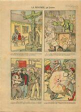 Caricature Politique Députés SFIO Communiste Greco-Turkish War 1921 ILLUSTRATION