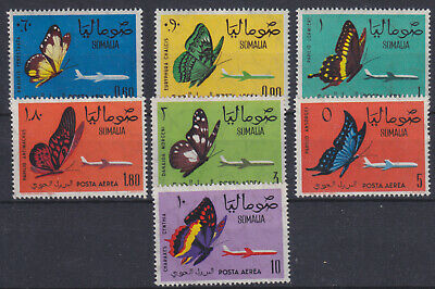 Sonderabschnitt Somalia 490/93 ** Schmetterlinge, Postfrisch