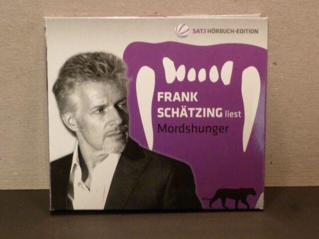 Frank Schätzing  -  MORDSHUNGER   5er CD - Hörbuch
