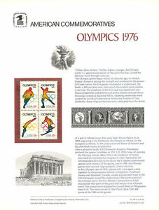 68-13c-Olympics-1695-1698-USPS-Commemorative-Stamp-Panel
