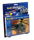 Revell Ah-64d Longbow Apache Helicopter Model Kit 04046 Ready 2 Build 1 144