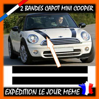 2 Bandes Capot Mini Cooper, Cooper S, Mini One