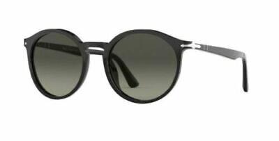 Bello Persol 3214s 95 53 95/71 Black Nero Sunglasses Sole Grey Gradient Lenses