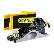 Stanley STA512060 1/2 Inch Fully Adjustable Block Plane and Pouch 5-12-060 New
