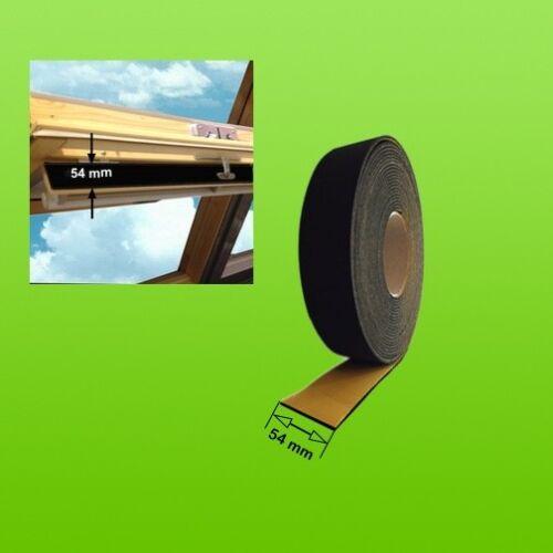 À partir de 1 m Mousse d/'étanchéité pour ventilation gueule!! par exemple pour VELUX-fenêtre de toit Convient