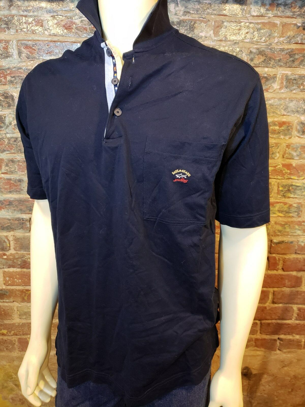 Paul & Shark Yachting SS Polo Shirt Navy bluee  Mens XL