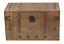 Coffre bar Placard à alcool T/'look vintage XL Bois Décoration colonial Courroie Poignée DECO