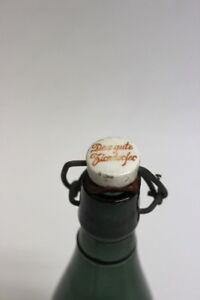 Alte Bierflasche mit Bügelverschluss Das gute Zindorfer