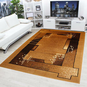 Beautiful-Brand-New-Beige-Brown-Classic-Thick-dense-Area-Rugs-Carpet-Mat