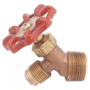 Valves, Fittings & Clamps Have An Inquiring Mind Anderson Metals 59540-0612 3/8 X 3/4 Brass Tank Valve