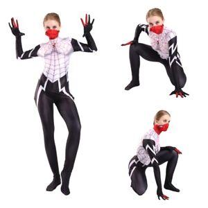 Silk-Cindy-Moon-Cosplay-Costume-Jumpsuit-BodySuit-Mask-Women-Girls-Spideman
