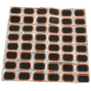 Bike-Bicycle-Tire-Tyre-Rubber-48-Patches-Repair-Kit-New-A4O5