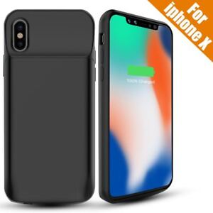chargeur coque portable iphone x