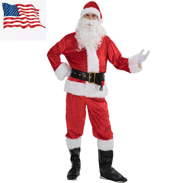 CHRISTMAS SANTA CLAUS COSTUME